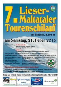 7. Tourenschilauf Lieser Maltatal